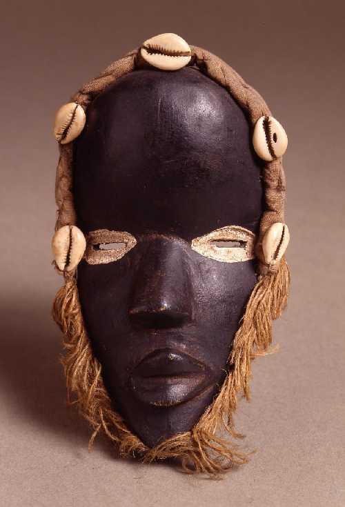 Máscara infantil. África