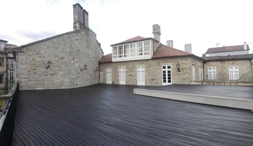 Pazo Bendaña terraza