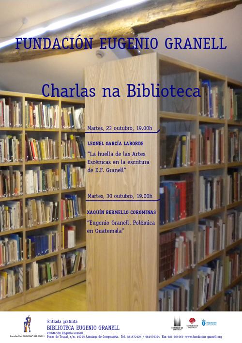CHARLAS EN LA BIBLIOTECA