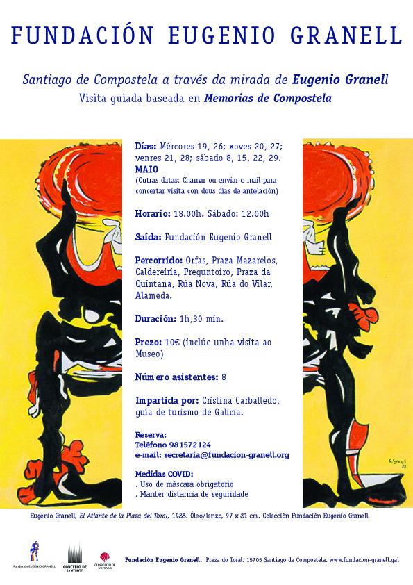 Visita: Santiago de Compostela a través da mirada de Eugenio Granell