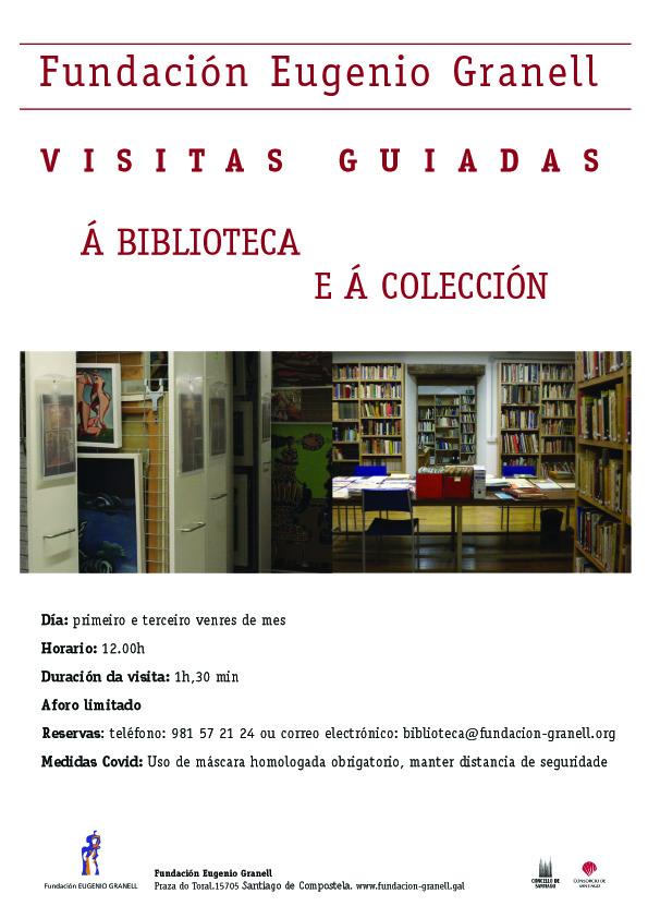 Visitas guiadas á biblioteca e á colección Eugenio Granell