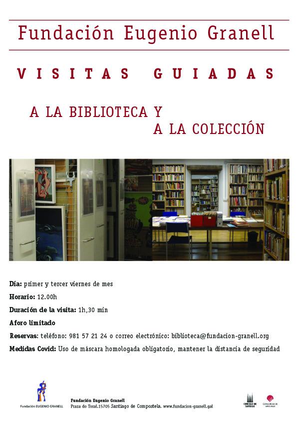 Visitas guiadas a la biblioteca y a la colección Eugenio Granell
