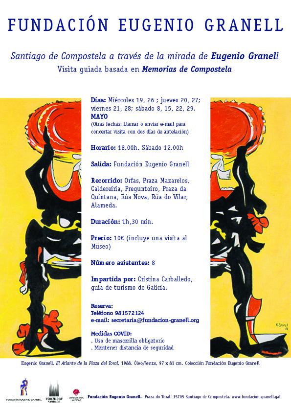 Visita:  Santiago de Compostela a través de la mirada de Eugenio Granell